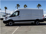 2018 Transit 250 Med Roof 4x2,  Empty Cargo Van #FJ3541DT - photo 3