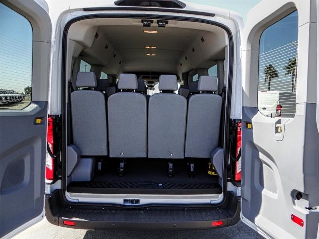 2018 Transit 350 Med Roof 4x2,  Passenger Wagon #FJ3560 - photo 9