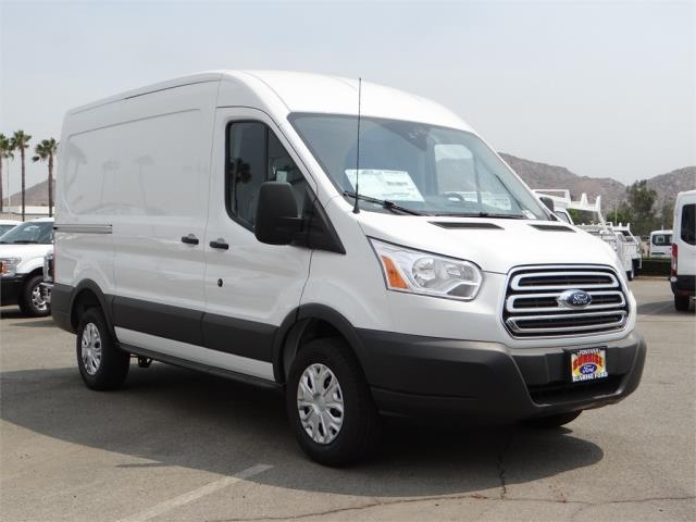 2018 Transit 250 Med Roof 4x2,  Empty Cargo Van #FJ3671 - photo 7
