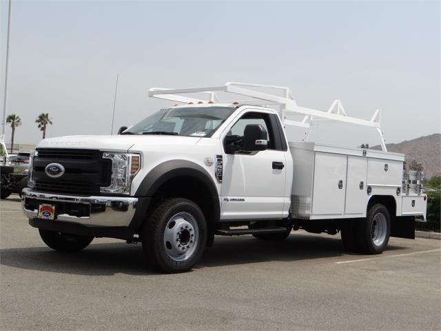 2018 F-550 Regular Cab DRW 4x2,  Scelzi Combo Bodies Combo Body #FJ3723 - photo 1