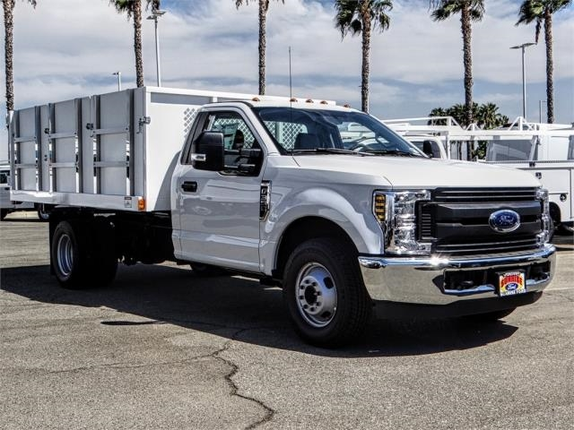2018 F-350 Regular Cab DRW 4x2,  Harbor Landscape Dump #FJ3725 - photo 6