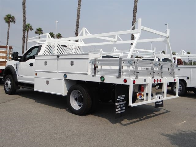 2018 F-450 Regular Cab DRW 4x2,  Scelzi Contractor Body #FJ3726 - photo 2