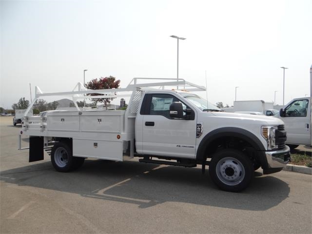 2018 F-450 Regular Cab DRW 4x2,  Scelzi Contractor Body #FJ3726 - photo 5
