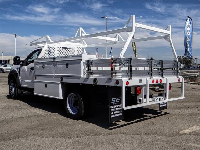 2018 F-550 Regular Cab DRW 4x2,  Scelzi Contractor Body #FJ3793 - photo 2