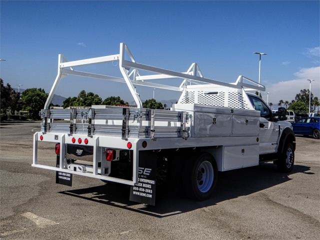 2018 F-550 Regular Cab DRW 4x2,  Scelzi Contractor Body #FJ3793 - photo 4