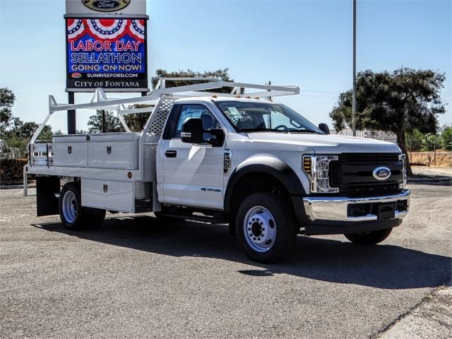 2018 F-550 Regular Cab DRW 4x2,  Scelzi Contractor Body #FJ3793 - photo 6