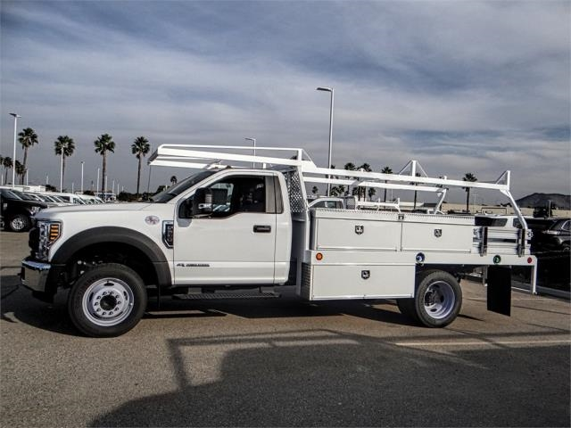 2018 F-550 Regular Cab DRW 4x2,  Scelzi Contractor Body #FJ3835 - photo 3