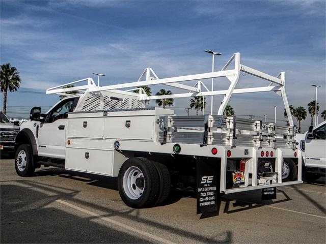2018 F-550 Regular Cab DRW 4x2,  Scelzi CTFB Contractor Body #FJ3835 - photo 2