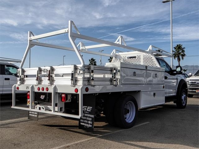 2018 F-550 Regular Cab DRW 4x2,  Scelzi CTFB Contractor Body #FJ3835 - photo 4