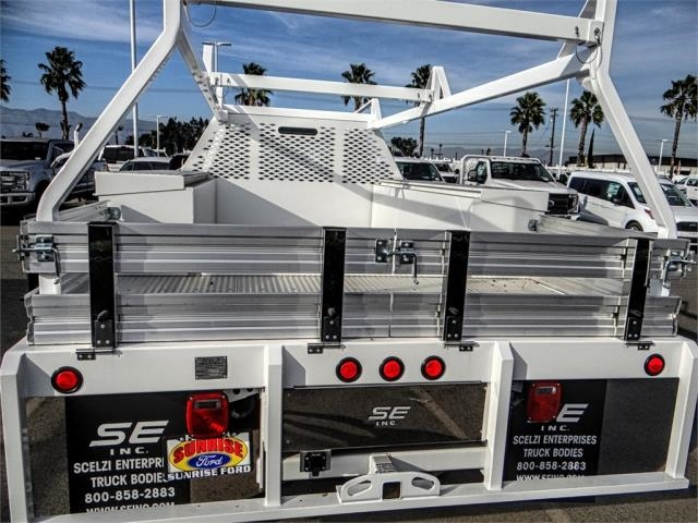 2018 F-550 Regular Cab DRW 4x2,  Scelzi Contractor Body #FJ3835 - photo 9