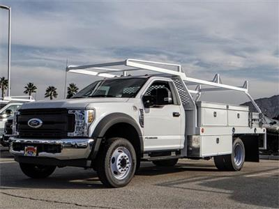 2018 F-550 Regular Cab DRW 4x2,  Scelzi CTFB Contractor Body #FJ3835 - photo 1