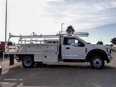 2018 F-550 Regular Cab DRW 4x2,  Scelzi CTFB Contractor Body #FJ3835 - photo 5