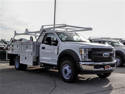 2018 F-550 Regular Cab DRW 4x2,  Scelzi CTFB Contractor Body #FJ3835 - photo 6
