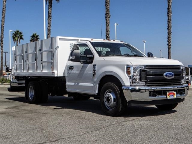 2018 F-350 Regular Cab DRW 4x2,  Harbor Landscape Dump #FJ3934 - photo 6