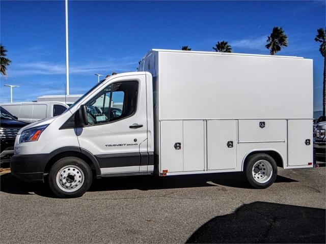 2018 Transit 350 HD DRW 4x2,  Harbor Service Utility Van #FJ4517 - photo 3