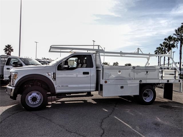 2018 F-550 Regular Cab DRW 4x2,  Scelzi Contractor Body #FJ4545DT - photo 3