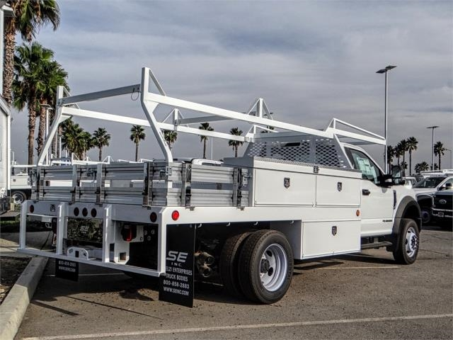 2018 F-550 Regular Cab DRW 4x2,  Scelzi Contractor Body #FJ4545DT - photo 4