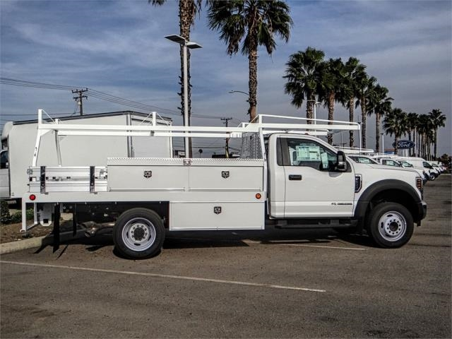 2018 F-550 Regular Cab DRW 4x2,  Scelzi Contractor Body #FJ4545DT - photo 5