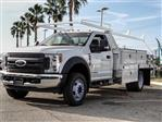 2018 F-550 Regular Cab DRW 4x2,  Scelzi Contractor Body #FJ4545DT - photo 1