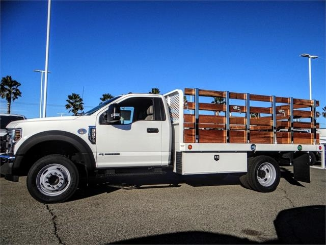 2019 F-450 Regular Cab DRW 4x2,  Scelzi Stake Bed #FK0148 - photo 3