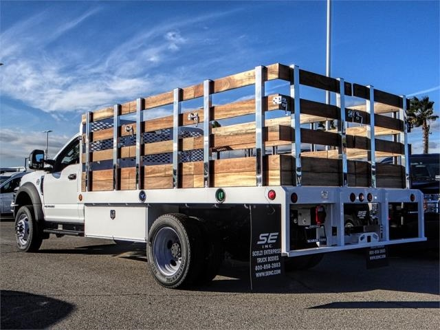 2019 F-450 Regular Cab DRW 4x2,  Scelzi Stake Bed #FK0148 - photo 2
