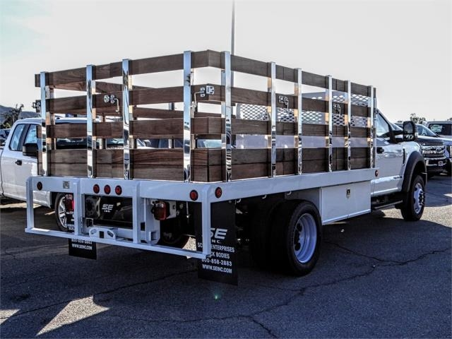 2019 F-450 Regular Cab DRW 4x2,  Scelzi Stake Bed #FK0148 - photo 4