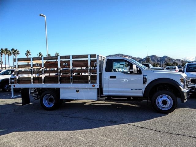 2019 F-450 Regular Cab DRW 4x2,  Scelzi Stake Bed #FK0148 - photo 5