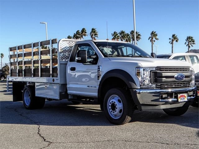 2019 F-450 Regular Cab DRW 4x2,  Scelzi Stake Bed #FK0148 - photo 6