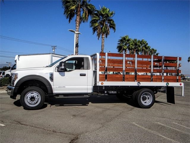 2019 F-450 Regular Cab DRW 4x2,  Scelzi Stake Bed #FK0149 - photo 3