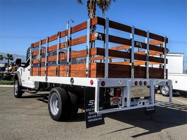2019 F-450 Regular Cab DRW 4x2,  Scelzi Stake Bed #FK0149 - photo 2
