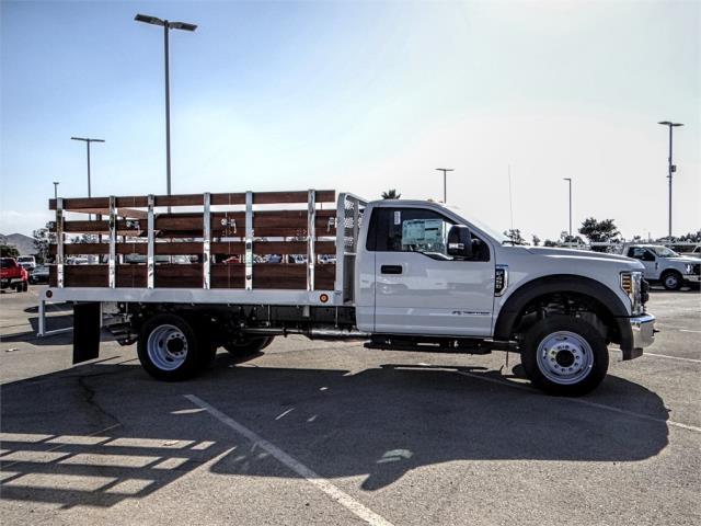 2019 F-450 Regular Cab DRW 4x2,  Scelzi Stake Bed #FK0149 - photo 5