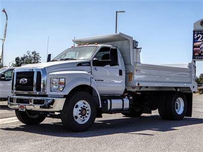 2019 F-750 Regular Cab DRW 4x2,  Scelzi Dump Body #FK0218 - photo 4