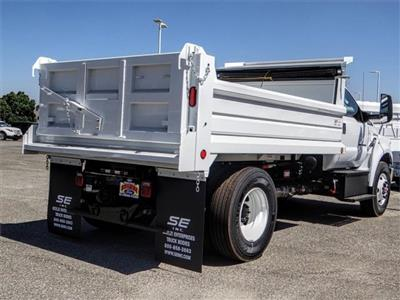 2019 F-750 Regular Cab DRW 4x2,  Scelzi Dump Body #FK0218 - photo 5