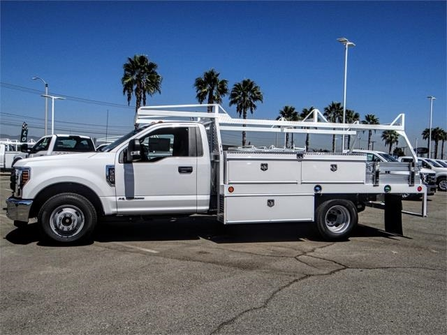 2019 F-350 Regular Cab DRW 4x2,  Scelzi Contractor Body #FK0219 - photo 3