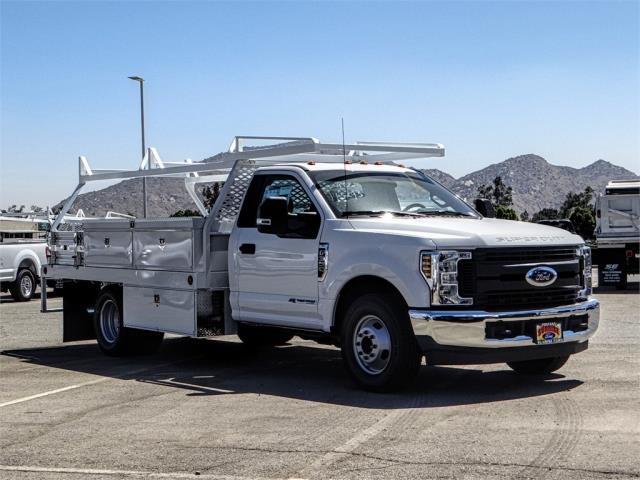 2019 F-350 Regular Cab DRW 4x2,  Scelzi Contractor Body #FK0219 - photo 6