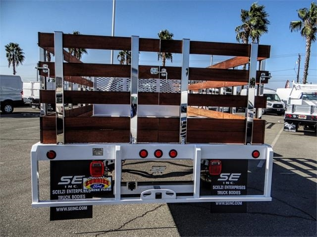 2019 F-450 Regular Cab DRW 4x2,  Scelzi Stake Bed #FK0300 - photo 9