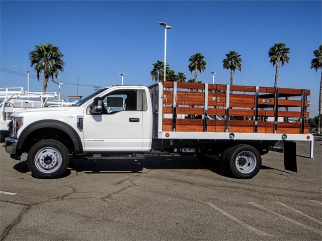 2019 F-450 Regular Cab DRW 4x2,  Scelzi Stake Bed #FK0300 - photo 3