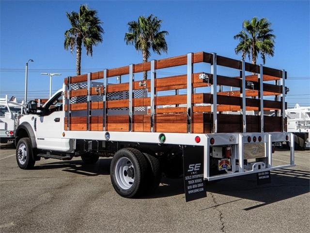 2019 F-450 Regular Cab DRW 4x2,  Scelzi Stake Bed #FK0300 - photo 2