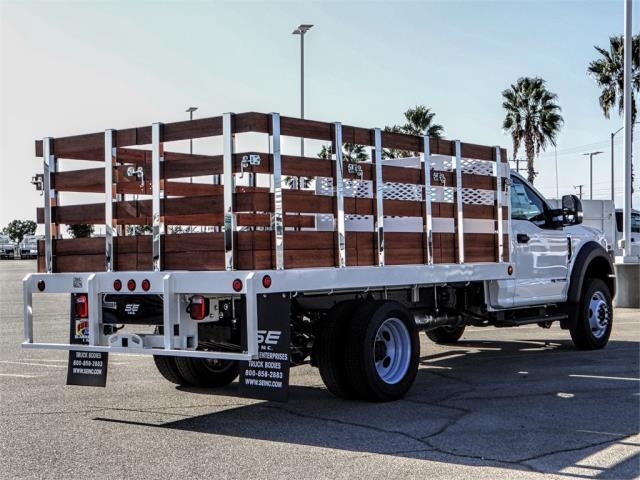 2019 F-450 Regular Cab DRW 4x2,  Scelzi Stake Bed #FK0300 - photo 4