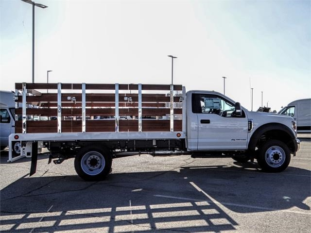 2019 F-450 Regular Cab DRW 4x2,  Scelzi Stake Bed #FK0300 - photo 5