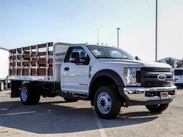 2019 F-450 Regular Cab DRW 4x2,  Scelzi Stake Bed #FK0300 - photo 6