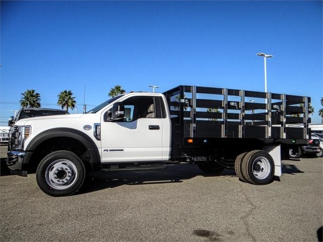 2019 F-550 Regular Cab DRW 4x2,  Marathon Stake Bed #FK0364 - photo 3