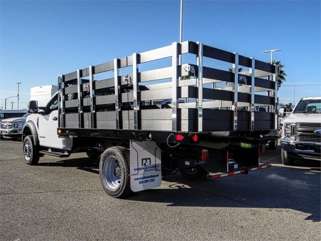 2019 F-550 Regular Cab DRW 4x2,  Marathon Stake Bed #FK0364 - photo 2