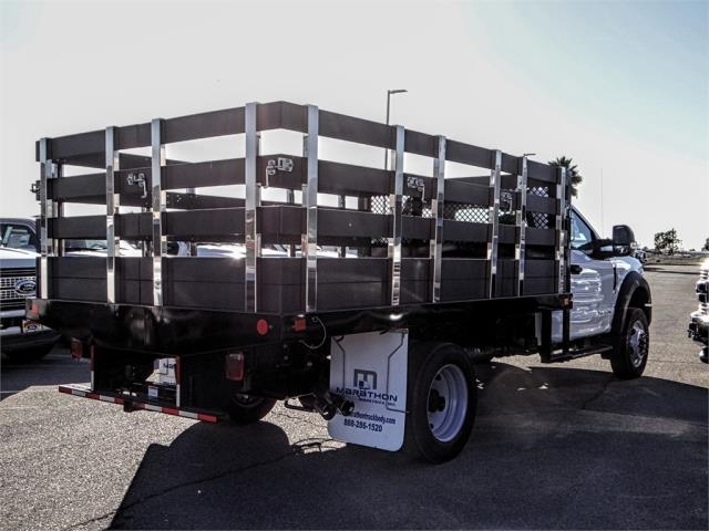 2019 F-550 Regular Cab DRW 4x2,  Marathon Stake Bed #FK0364 - photo 4