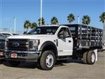 2019 F-550 Regular Cab DRW 4x2,  Marathon Stake Bed #FK0364 - photo 1