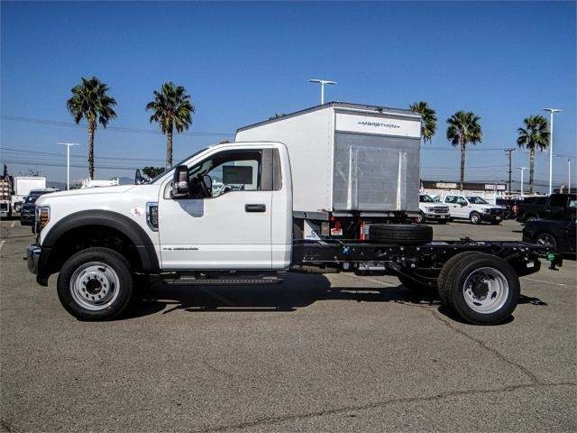 2019 F-550 Regular Cab DRW 4x2,  Scelzi Contractor Body #FK0402 - photo 3