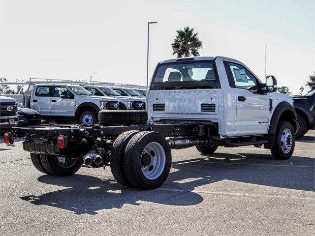 2019 F-550 Regular Cab DRW 4x2,  Scelzi Contractor Body #FK0402 - photo 4