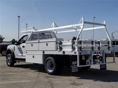 2019 F-550 Regular Cab DRW 4x2,  Contractor Body #FK0419 - photo 2