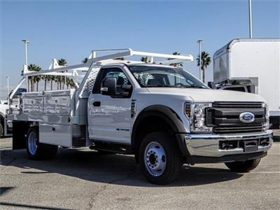 2019 F-550 Regular Cab DRW 4x2,  Contractor Body #FK0419 - photo 7