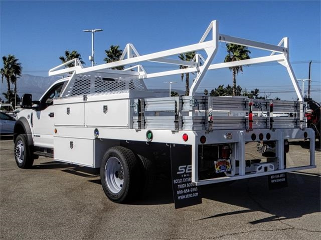 2019 F-450 Regular Cab DRW 4x2,  Scelzi Contractor Body #FK0432 - photo 2
